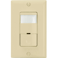 Ivory - Passive Infrared (PIR) Occupancy/Vacancy Sensor - 800W Max. - 120/277 Volt - Neutral Required