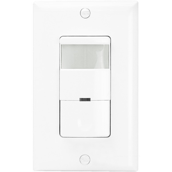 White - Passive Infrared (PIR) Occupancy/Vacancy Sensor Image