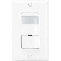 White - Passive Infrared (PIR) Occupancy and Vacancy Sensor - 800W Max. - 120/277 Volt - Neutral Required