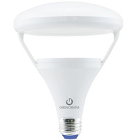 700 Lumens - Warm Dimming from 2700-2200 Kelvin - LED BR40 - 10.5 Watt - 65W Equal - 120V - Green Creative 58002