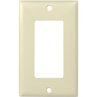 Almond - 1 Gang - Decorator Wall Plate - Enerlites 8831-A
