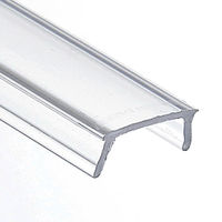 3.28 ft. - Clear - KA-BIS Lens Cover - Designed for PDS-O, PDS4-ALU, PDS4-K, PDS4-MDF, MICRO-ALU, MICRO-K, 45-ALU, 45-MDF, PAC-MDF Channels - Klus 17072