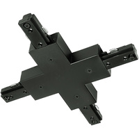 Nora NT-315B - Black - X-Connector - Single Circuit - Compatible with Halo Track