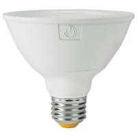 1050 Lumens - 3000 Kelvin - LED - PAR30 Short Neck - 13 Watt - 75W Equal - 25 Deg. Narrow Flood - CRI 90 - Green Creative 58144