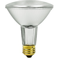 60 Watt - PAR30LN - 75 Watt Equivalent - Narrow Flood - Halogen - 1,500 Life Hours - 1070 Lumens - 120 Volt