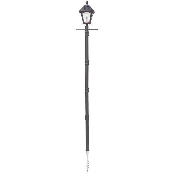 Solar Baytown Lamp Post with EZ Anchor Image