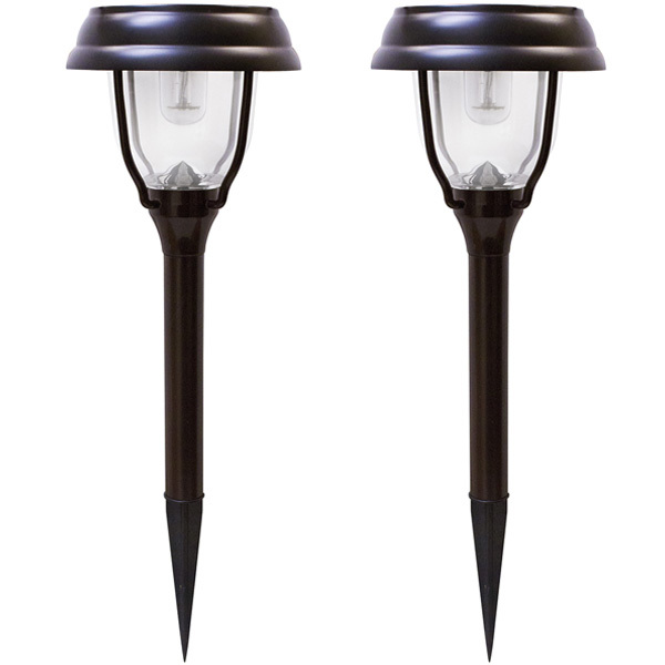 Solar LED Garden Lights with Dual Color Option Image