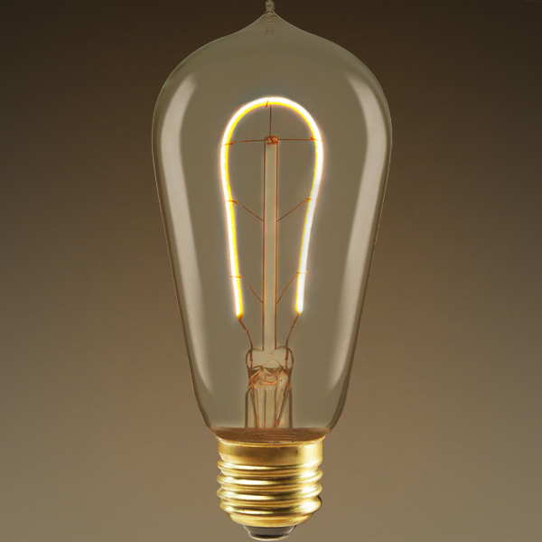 LED Edison Bulb - Vertical Filament - 4 Watt Image