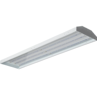 18,200 Lumens - LED High Bay - 5000 Kelvin - Length 48 in. x Width 11.8 in. - 120-277V - GlobaLux LPHB-411-140-MVD-850