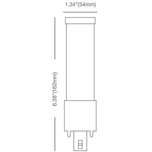 LED G24 PL Lamp - 2-Pin or 4-Pin Image