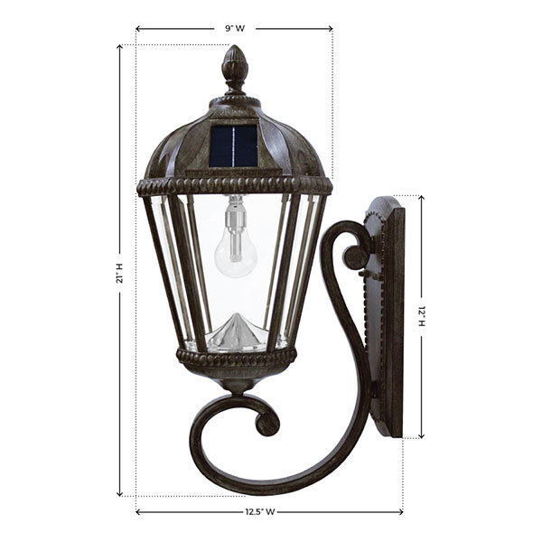 Solar Royal Wall Lantern Image