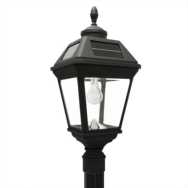 Solar Imperial Lamp Post with Single Lamp Head Image