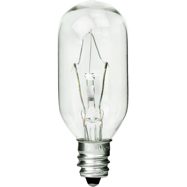 40 Watt - T8 - Clear - Appliance Bulb Image