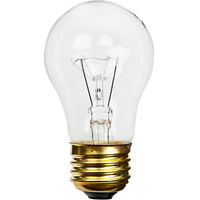 60 Watt - 540 Lumens - A15 - Clear - Appliance Bulb - Medium Base