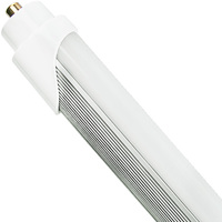 4000 Kelvin - 4500 Lumens - 40W - T8 LED Tube - F96T8 Replacement -  120-277V - Ballast Must Be Removed - Pack of 15
