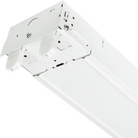 4 ft. x 4.24 in. - LED Ready Strip Fixture - Operates (2) 4' Direct Wire LED Lamps (Sold Separately) - 120-277V - PLT TXFC232X1