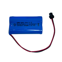 3.2 Volt - Replacement Li-Ion Battery Pack For Gama Sonic Solar Lamps - 2 Pack