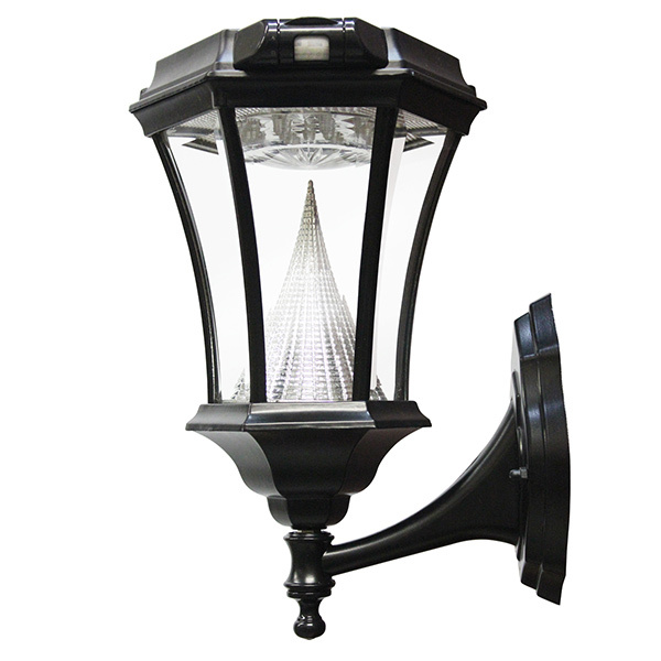 Solar Victorian Wall Lantern with Motion Sensor Image