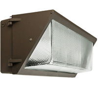 10,200 Lumens - 5000 Kelvin - 80 Watt - LED Wall Pack with Photocell - Equal to a 400W MH and Uses 80% Less Energy - 120-277V - Fortified LEDs FLAWL35/100/24L