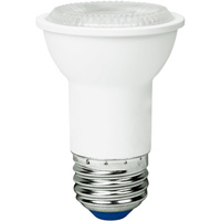 500 Lumens - 3000 Kelvin - LED - PAR16 - 6 Watt - 60W Equal - 35 Deg. Flood - CRI 82 - Green Creative 57991