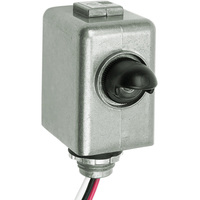 Electronic Photocell - Fixed Position Mounting - LED and HID Compatible - Dusk-to-Dawn - 120-277 Volt - Intermatic EK4436SM