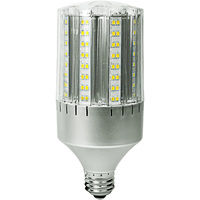 2700 Lumens - 24 Watt - LED Corn Bulb - 100W Metal Halide Equal - 4000 Kelvin - Medium Base - 120/277 - 5 Year Warranty