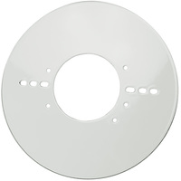 4 in. J-Box Cover Plate - For Use with Green Creative QWIKLINK Strip Fixtures - Green Creative 28384
