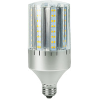 2362 Lumens - 24 Watt - LED Corn Bulb - 100W Metal Halide Equal - 3000 Kelvin - Medium Base - 120-277V - 5 Year Warranty