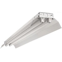 8 ft. x 8.5 in. - Industrial Strip Fixture - Operates 2 F96T8 Lamps - Lamps Not Included - 120-277V - PLT IND259W30MV