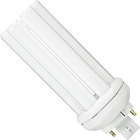 Philips 458257 - PL-T 26W/830/4P/ALTO - 26 Watt - 4-Pin GX24q-3 Base - 3000 Kelvin - CFL