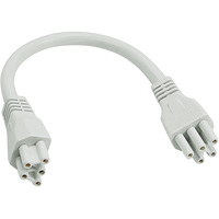 7.9 in. QWIKLINK Cable - For Use with Green Creative Qwiklink Strip Fixtures - Green Creative 28385
