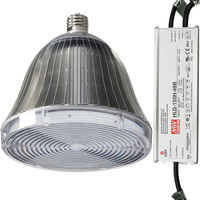 19,344 Lumens - 150 Watt - LED HID Retrofit - 400W Metal Halide Equal - 5000 Kelvin - Mogul Base - Vertical Mount -  Operates by Bypassing Existing Ballast