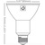 LED - PAR30 Long Neck - 13 Watt - 1100 Lumens