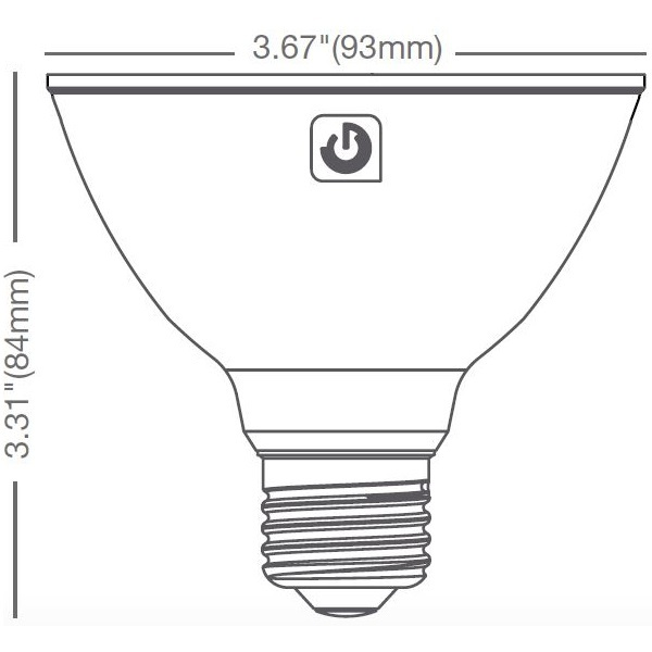 LED PAR30 Short Neck - 870 Lumens - 75W Equal Image