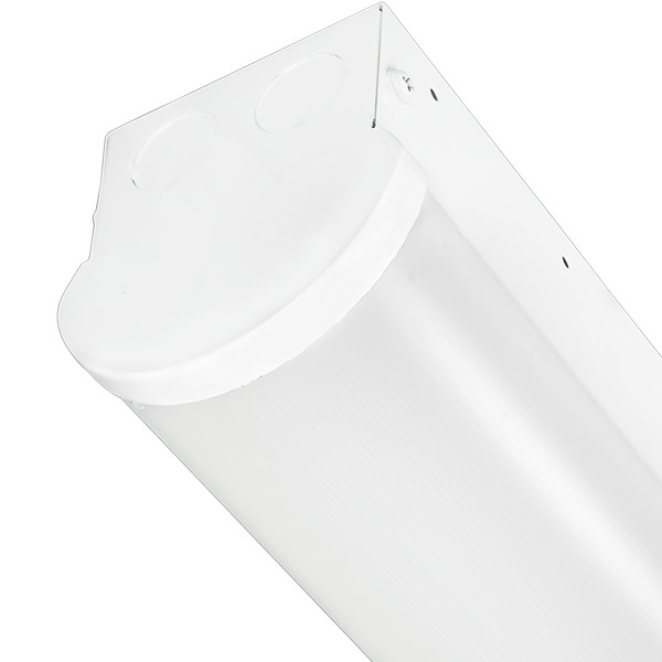 7700 Lumens - 96 x 3.4 in. - LED Lensed Strip Fixture Image
