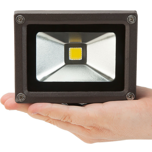 720 Lumens - Mini LED Flood Light Fixture - Wall Washer - 10 Watt Image