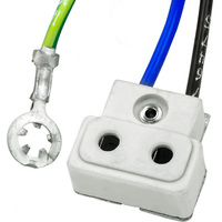 TP22H CE Socket - 63 In. Leads - 16 AWG - European 3-Wire - Use with Halogen Lamps - SYLVANIA 69018