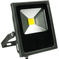 1800 Lumens - Mini LED Flood Light Fixture - Landscape and Wall Washer - 20 Watt - 4000 Kelvin -  Height 7.6 in. - Width 6.39 in. - 120-277V - 5 Year Warranty - PLT/S1202