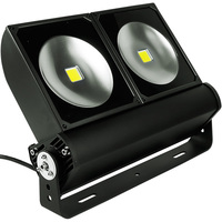 20,400 Lumens - LED Flood Light Fixture - 200 Watt - 5000 Kelvin - Height 12.6 in. - Width 16.9 in. - 120-277V - PLT/S2301