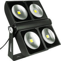 32,200 Lumens - LED High Output Flood Fixture - 300 Watt - 4000 Kelvin - Height 18.9 in. - Width 16.9 in. - 120-277V - PLT/S2402