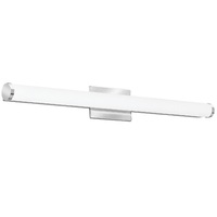 2000 Lumens - LED Cylinder Vanity - 26 Watt - 3000 Kelvin - Length 34.19 in. x Width 2.81 in. - Acrylic Lens - Chrome Finish - 120-277V - Lithonia FMVCCL36INMVOLT30K90CRIKRM4