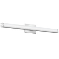 1900 Lumens - LED Square Vanity - 26 Watt - 3000 Kelvin - Length 33.25 in. x Width 2 in. - Acrylic Lens - Chrome Finish - 120-277V - Lithonia FMVCSL36INMVOLT30K90CRIKRM4
