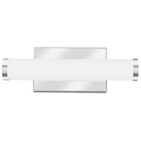 700 Lumens - LED Cylinder Vanity - 9.5 Watt - 3000 Kelvin - Length 13.5 in. x Width 2.81 in. - Acrylic Lens - Chrome Finish - 120-277V - Lithonia FMVCCL12INMVOLT30K90CRIKRM6