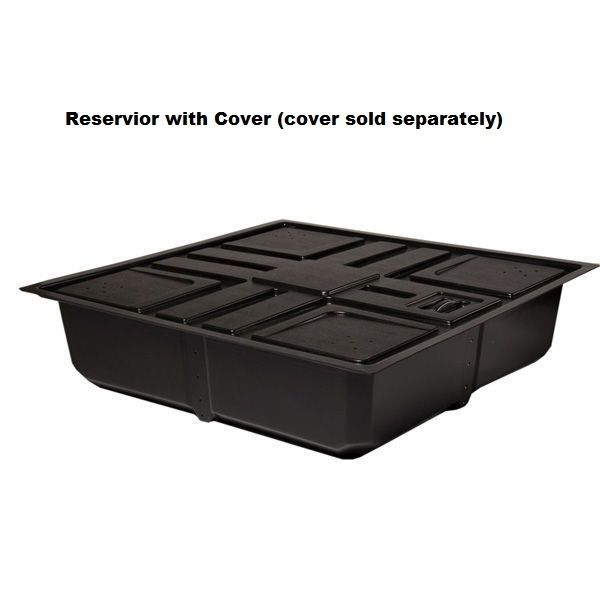 100 Gallon Reservoir - 53 in. x 53 in. x 13 in. Image