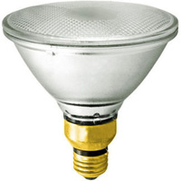 45 Watt - PAR38 - 50 Watt Equivalent - Flood - Halogen - 1,500 Life Hours - 550 Lumens - 120 Volt