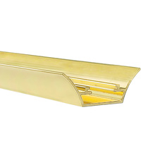 1/2 in. - Rope Light Reflector Trim - Gold - 6 ft. Length - FlexTec 206REFG