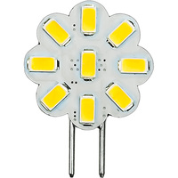 2.3 Watt - GY6.35 Base LED Wafer - 230 Lumens - 3000 Kelvin - Halogen Color - Replaces 20 Watt Halogen - 12VDC