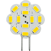 3 Watt - GY6.35 Base LED Wafer - 300 Lumens - 3000 Kelvin - Halogen Color - Replaces 25 Watt Halogen - 12VDC