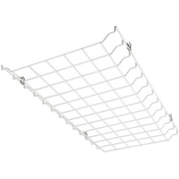 Wire Guard For LED Flat 2 ft. High Bay - 24 x 13 x 1.5 in. - Use with LED Low Profile Panel Troffers - High Bay Not Included - PLT 55205