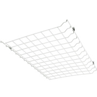 Wire Guard For LED Flat 2 ft. High Bay - 24 x 18 x 1.25 in. - Use with LED Low Profile Panel Troffers - High Bay Not Included - PLT 55211